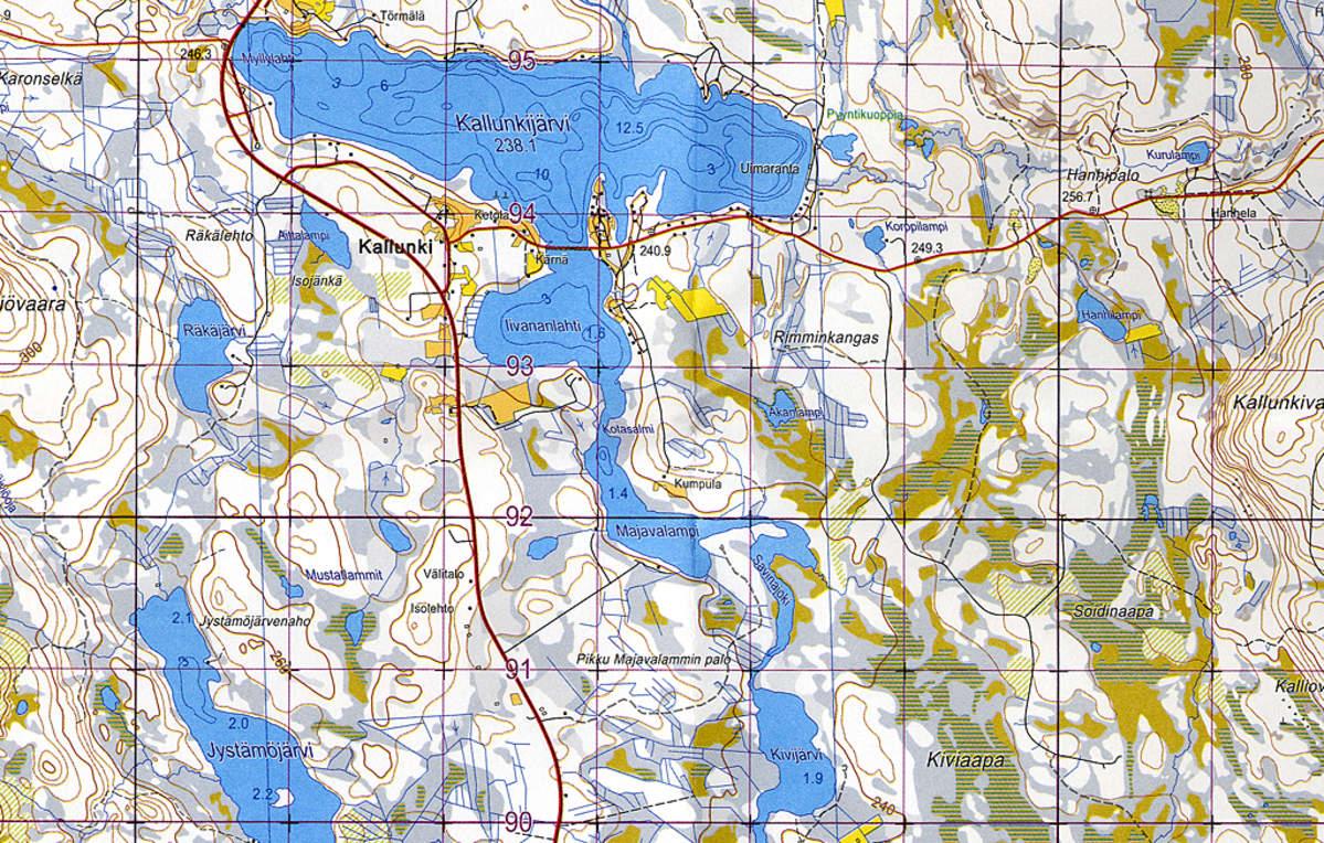 Perinteisista Maastokartoista Voi Tulla Historiaa Yle Uutiset