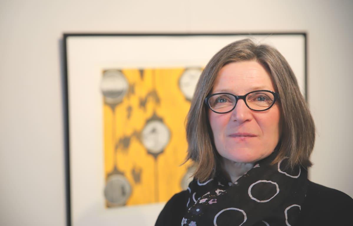Kuvassa Leena Koskinen