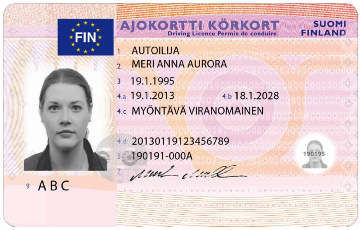 miten väärentää ajokortti