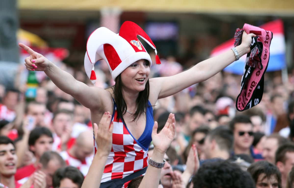 Kroatian kannattaja.