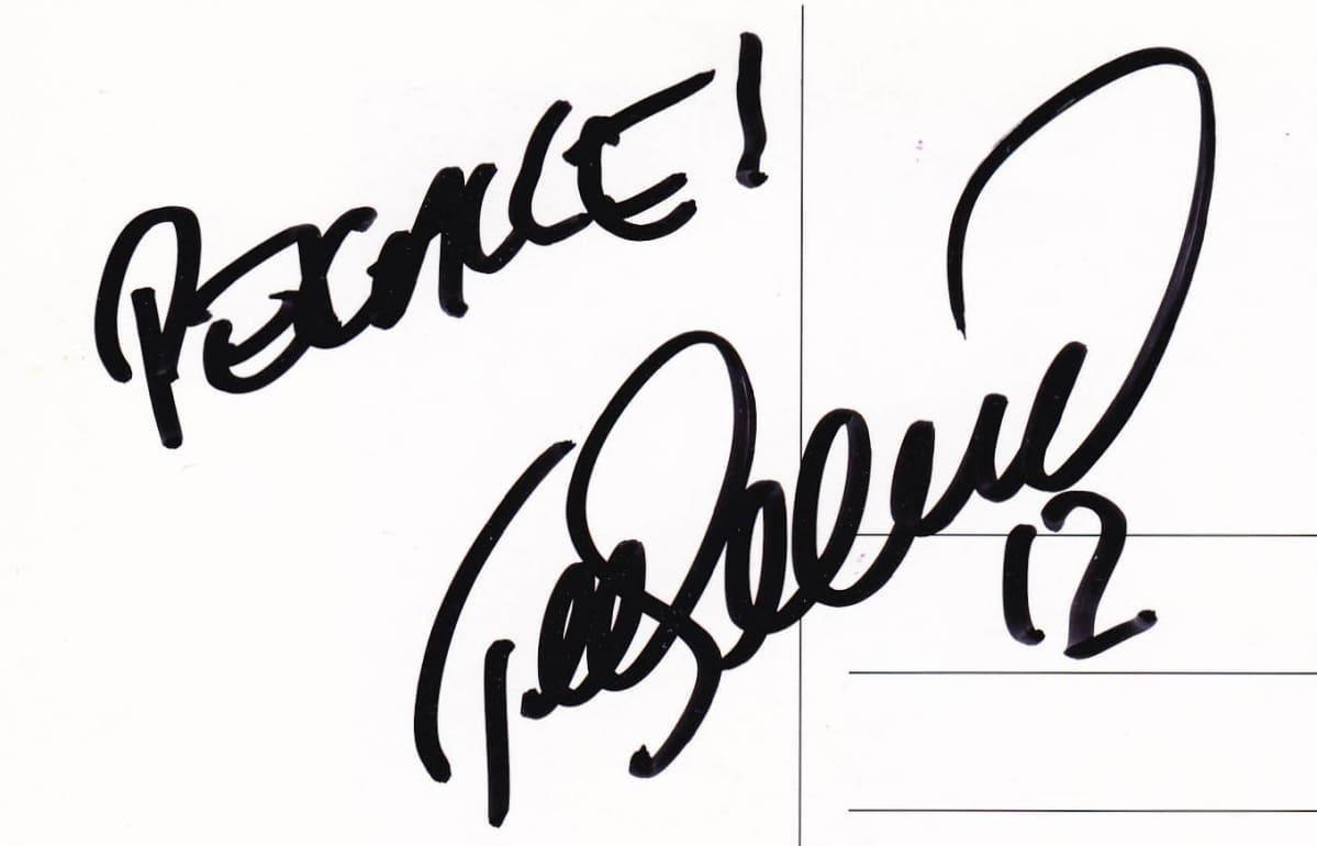 Teemu Selänteen nimikirjoitus
