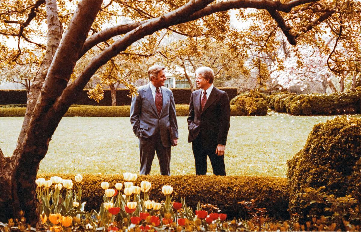Walter Mondale ja Jimmy Carter vuonna 1978.