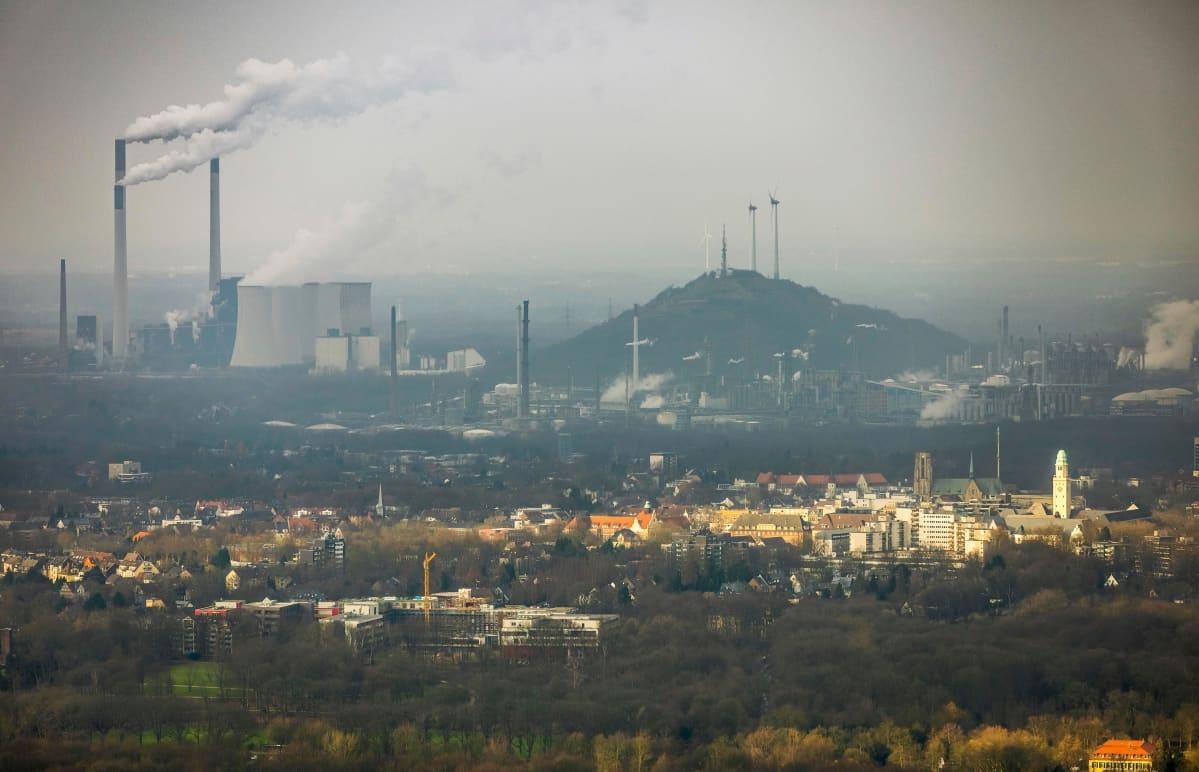 Uniperin tehdas Gelsenkirchenissa.