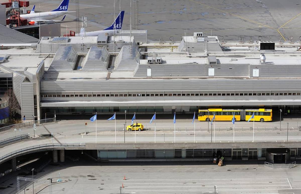 Arlandan lentokenttä.