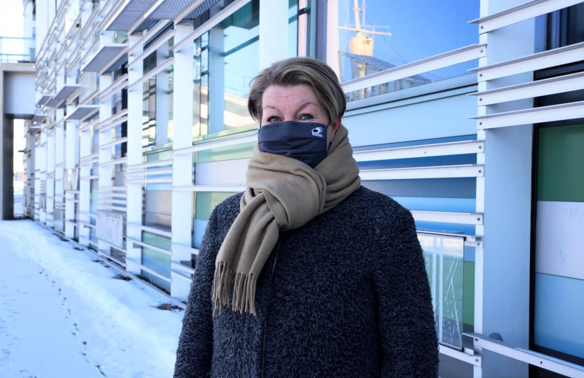 Haminan–Kotkan sataman risteilyliiketoiminnan projektipäällikkö Petra Cranston