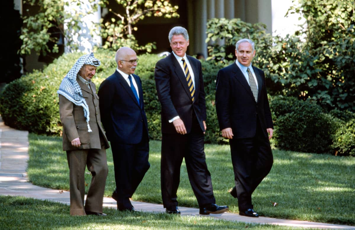 1996 lähi-idän rauhanneuvottelut.