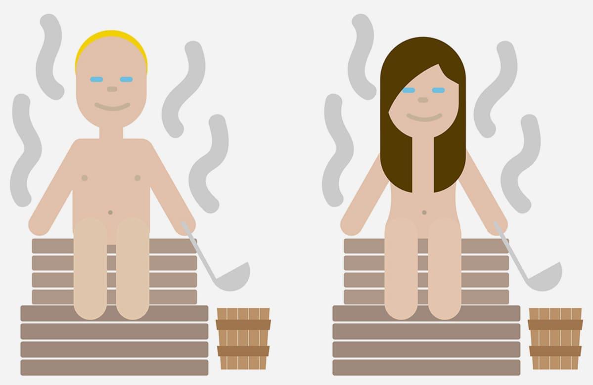 Sauna-emoji
