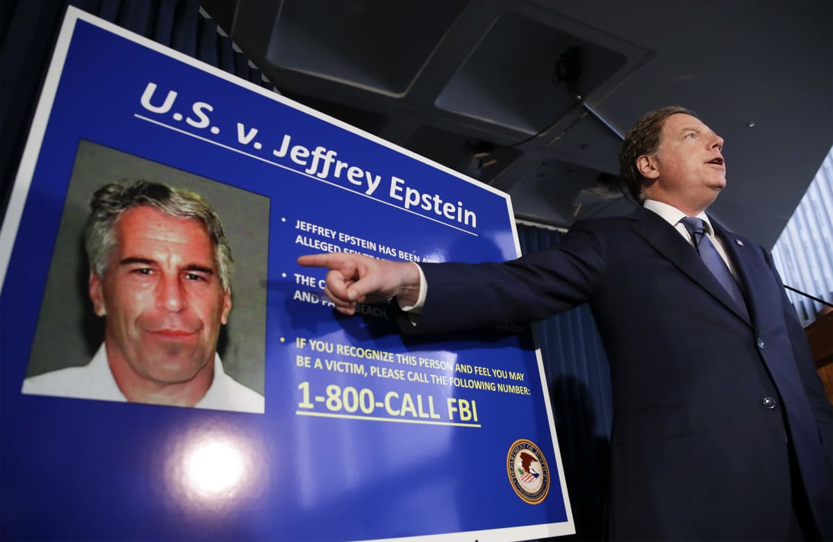 Syyttäjä Berman ja Jeffrey Epstein