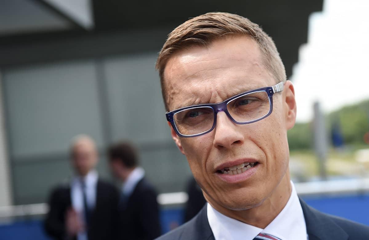 Suomen pääministeri Alexander Stubb.