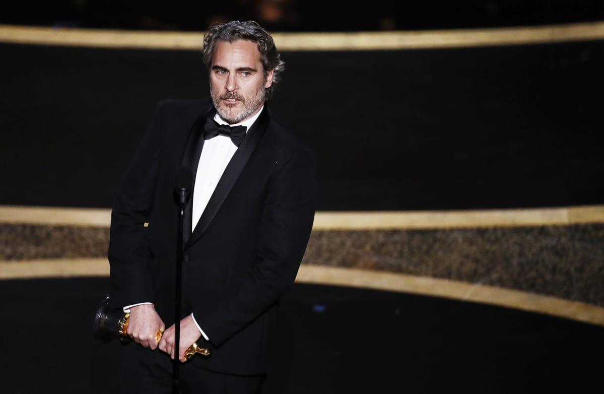 Joaquin Phoenix voitti parhaan miespääosan palkinnon.