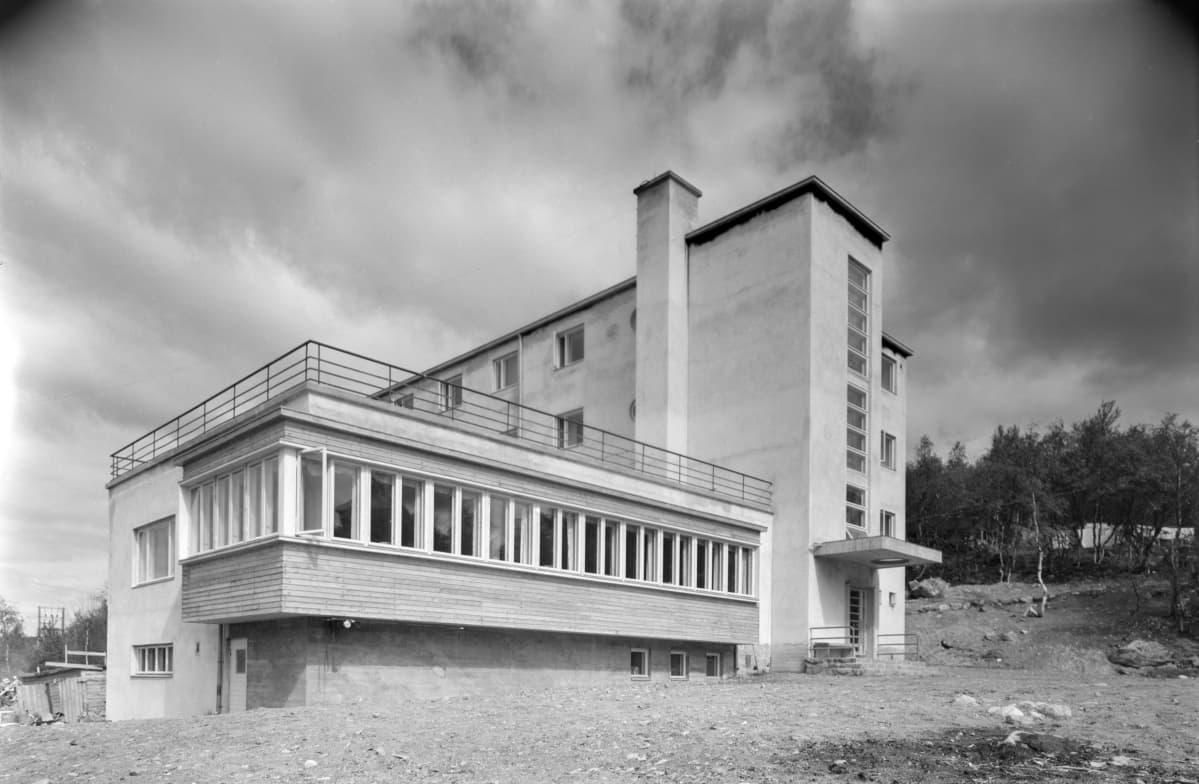 Kolttakönkään turistimaja 1939
