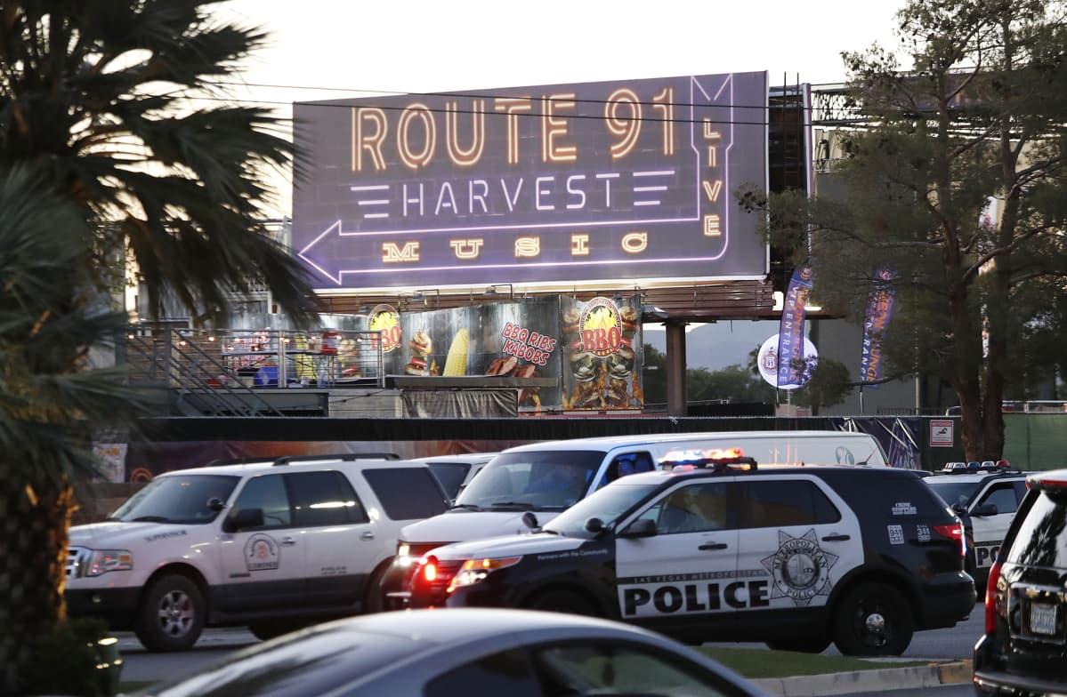Route 91 Harvest-festivaali Las Vegasissa.