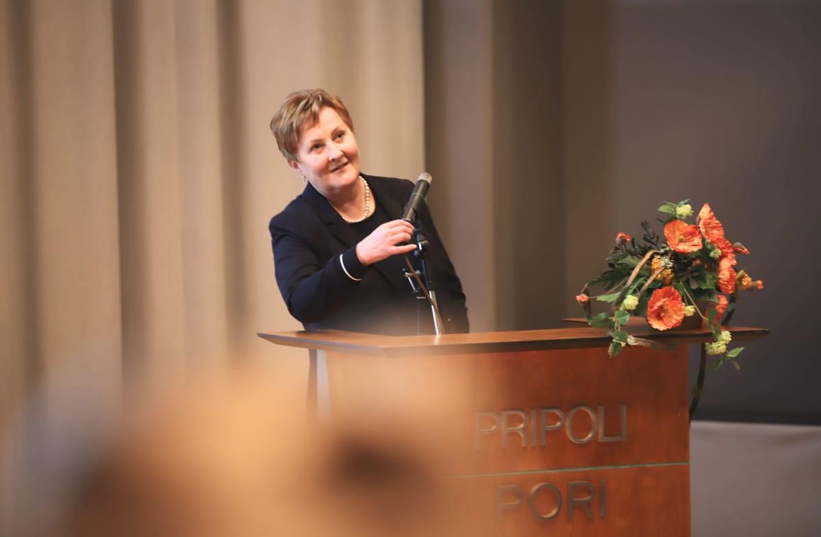 Porin kaupunginjohtaja Aino-Maija Luukkonen