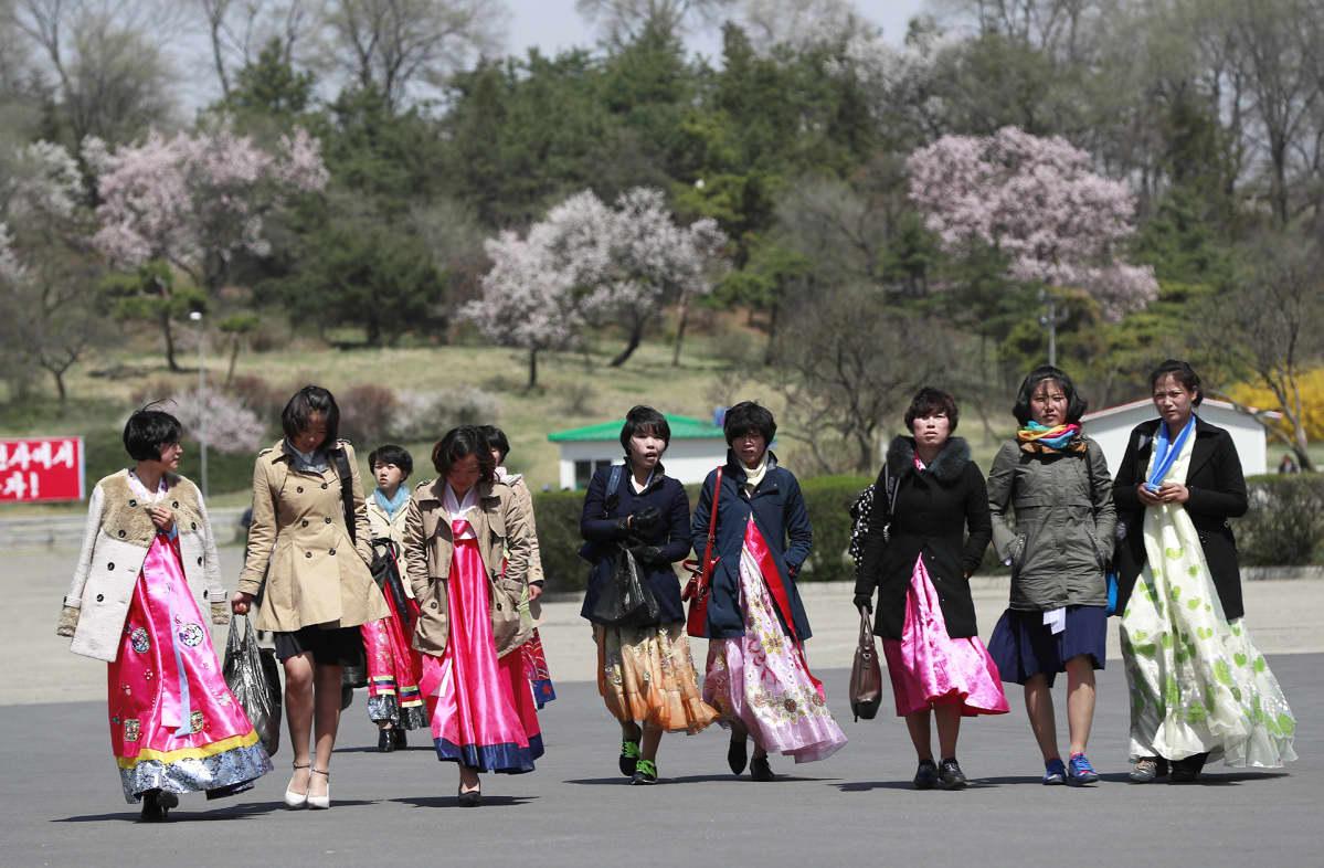 Pohjois-Korea valmistautuu lauantaiseen suurjuhlaan