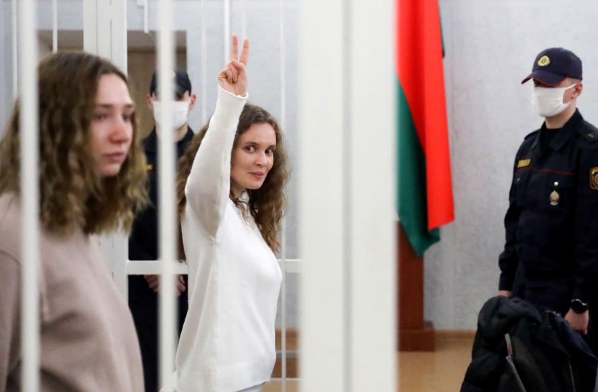Daria Tšultsova ja Katsjaryna Bahvalava