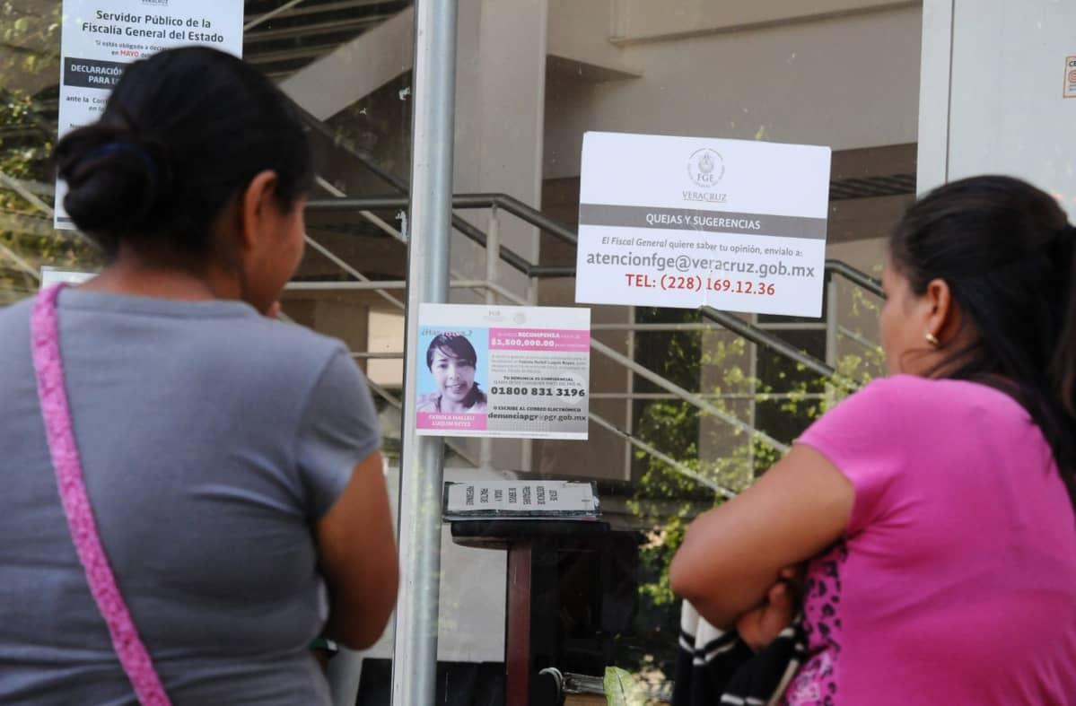 Kadonneiden sukulaisia Veracruzissa