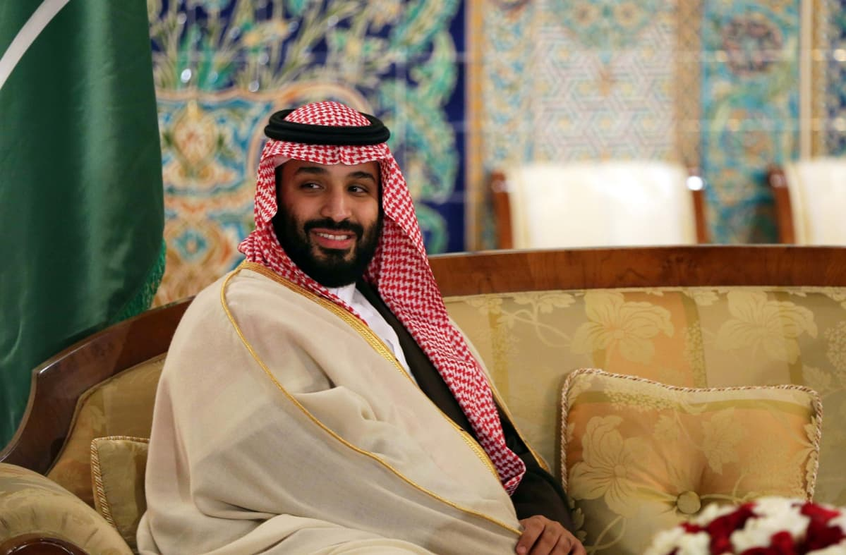 Saudi-Arabian kruununprinssi Muhammad bin Salman vierailulla Algeriassa.