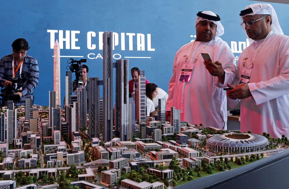 Uuden pääkaupungin malli.