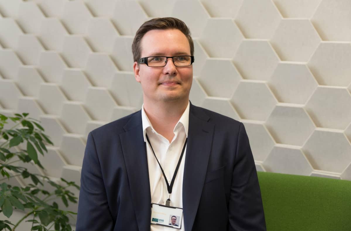 Verohallituksen valvontajohtaja Marko Myllyniemi.