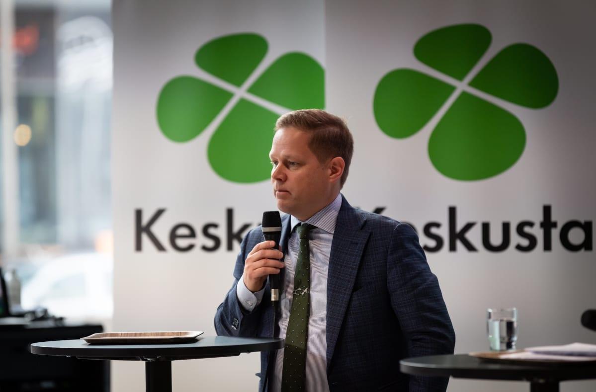Keskustan varapuheenjohtaja Markus Lohi