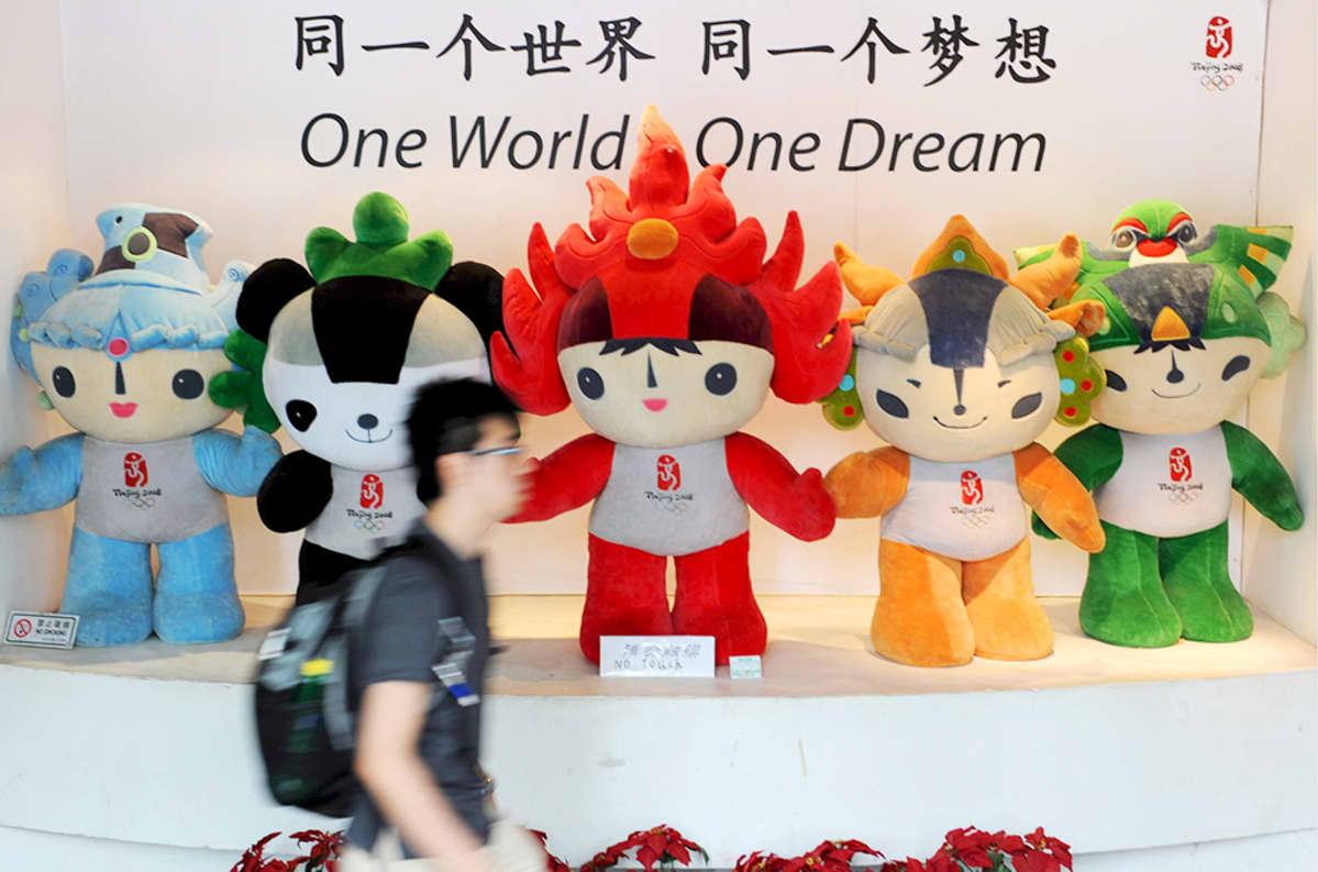 Pekingin olympialaisten maskotti