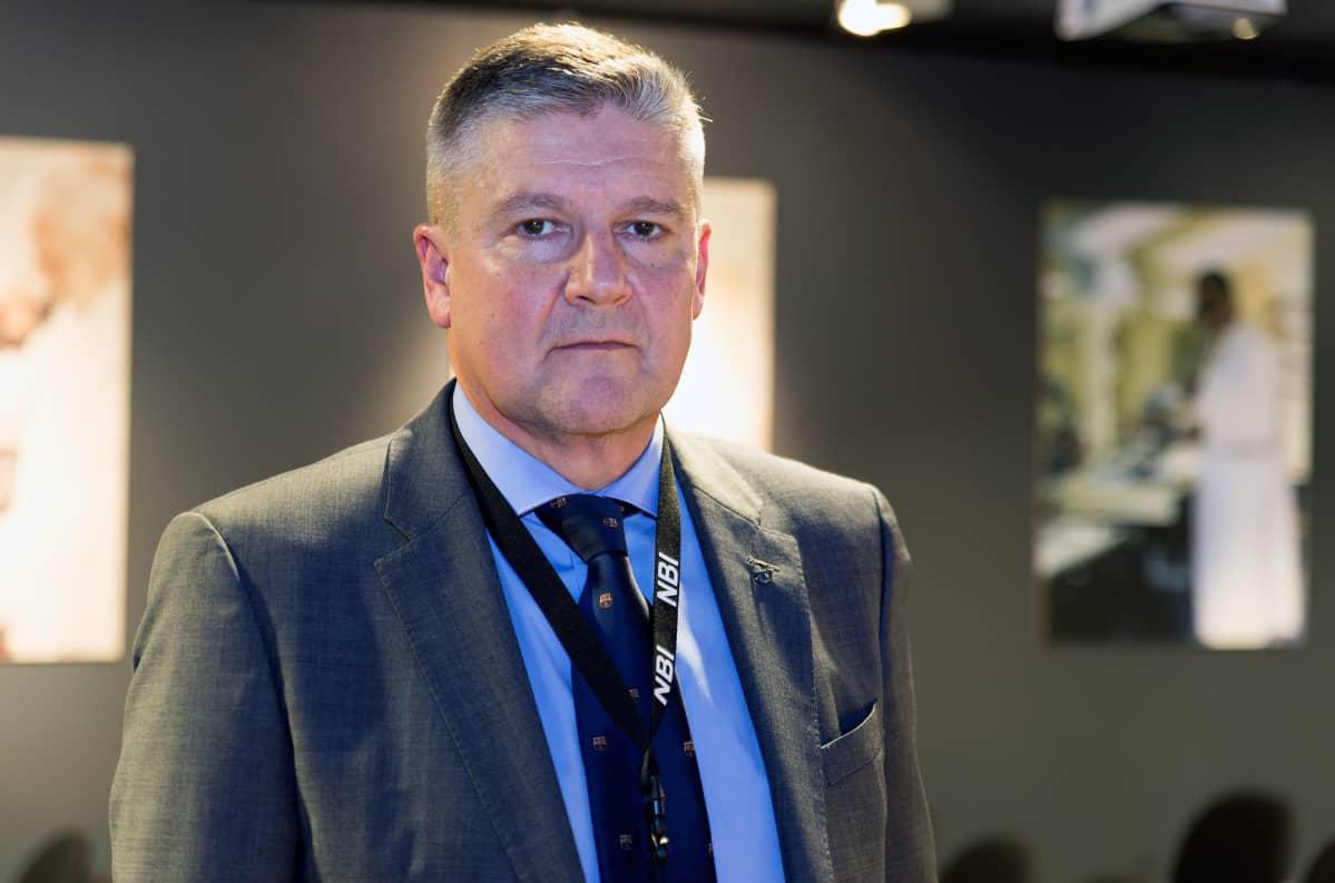 Rikosylikomisario Tero Haapala