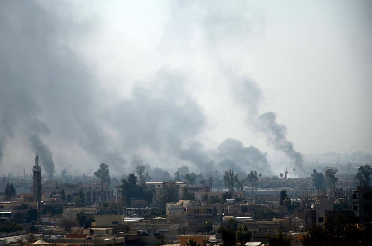 Mosul helmikuussa