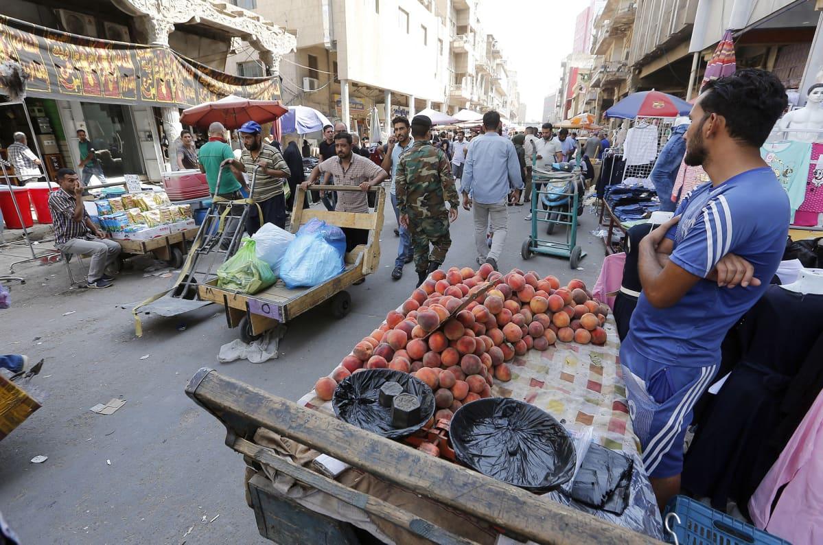 Bagdad katunäkymä