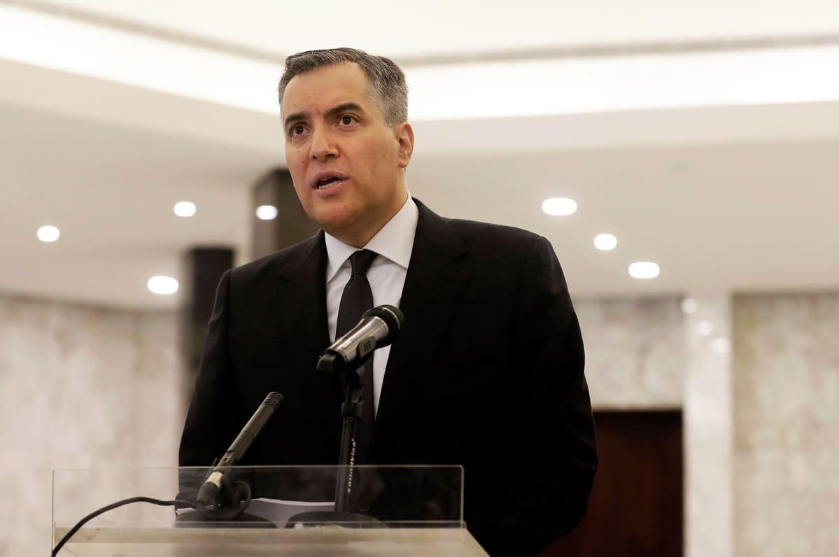 Mustapha Adib, Libanonin pääministeri.