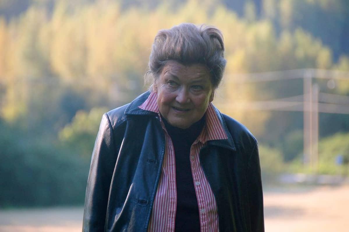 Laila Pullinen on työskennellyt ja asunut Nissbackan kartanomiljöössä 1980-luvun puolivälistä saakka.