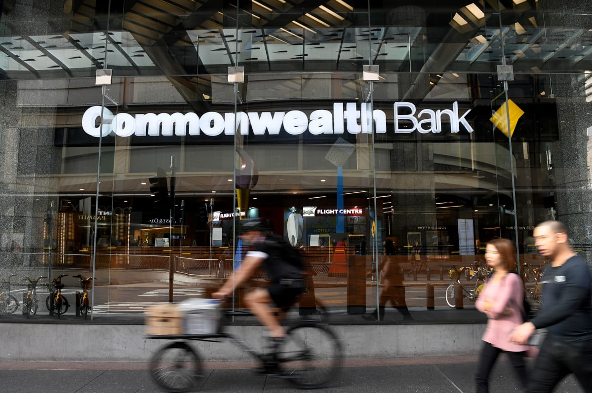 Commonwealth Bank on Australian suurin pankki.