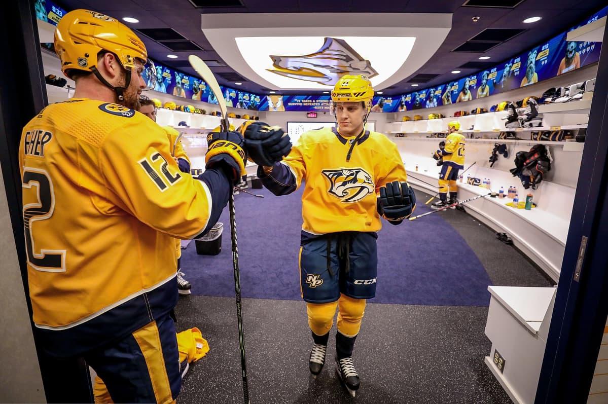 Eeli Tolvanen Nashville Predators NHL