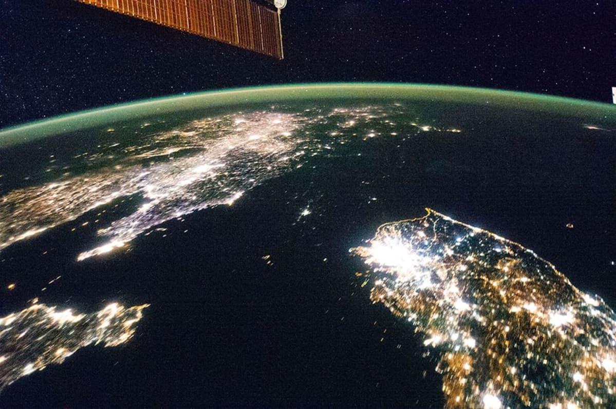 Satelliittikuva Koreoista