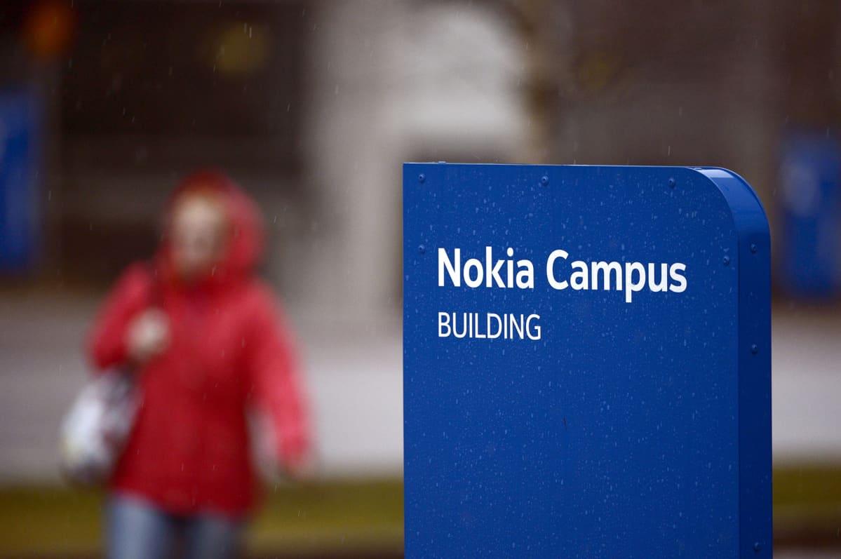 Verkkoyhtiö Nokian pääkonttori Karamalmilla Espoossa keskiviikkona 10. helmikuuta 2016.