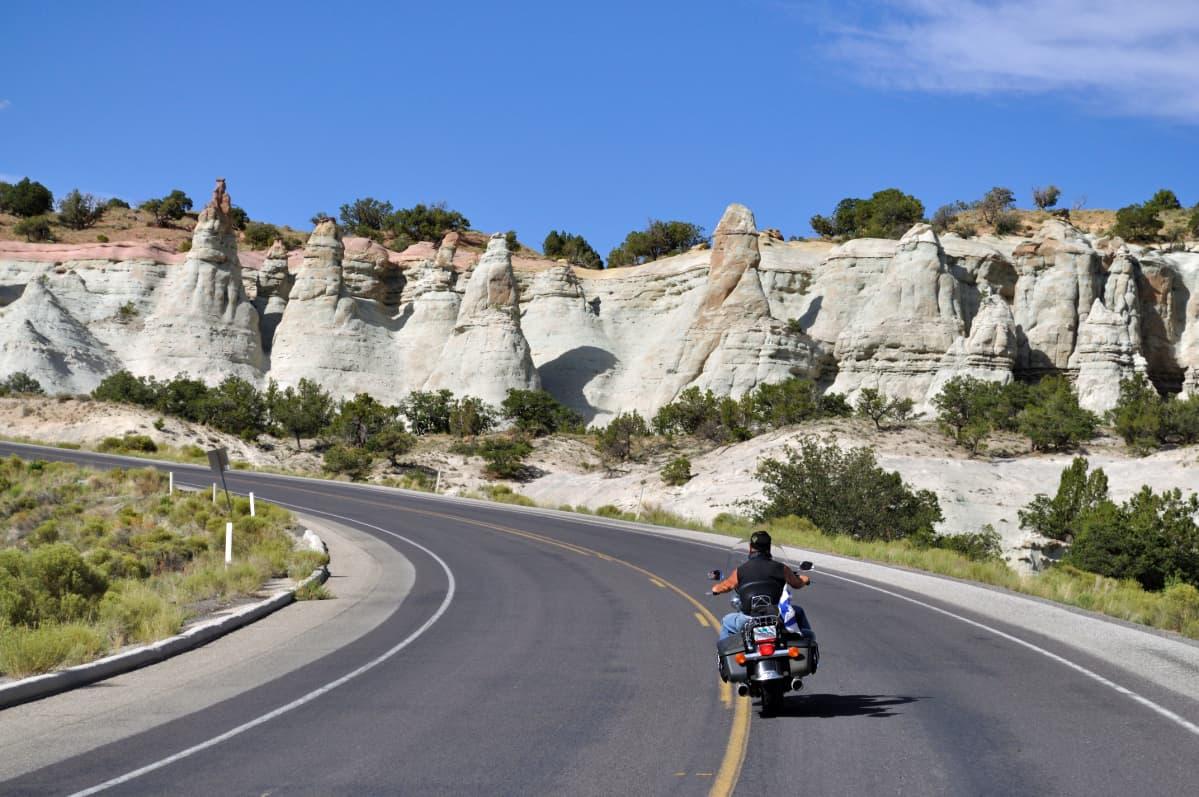 Matti Lieskala ajoi Route 66:n Yhdysvaltain halki