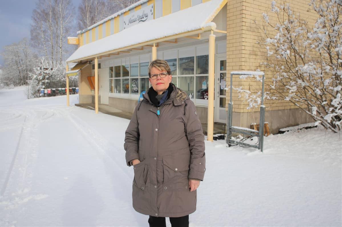 Pirjo Matikainen, puheenjohtaja, Jaalan kotiseutusäätiö.