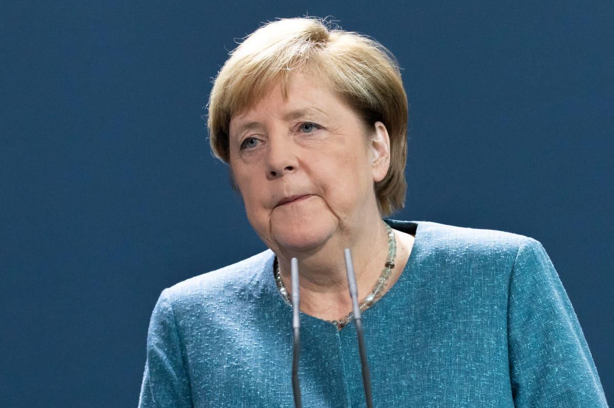 Liittokansleri Angela Merkel antoi Saksan kannanoton Navalnyin myrkytykseen tiistaina kanslerinvirastossa Berliinissä.