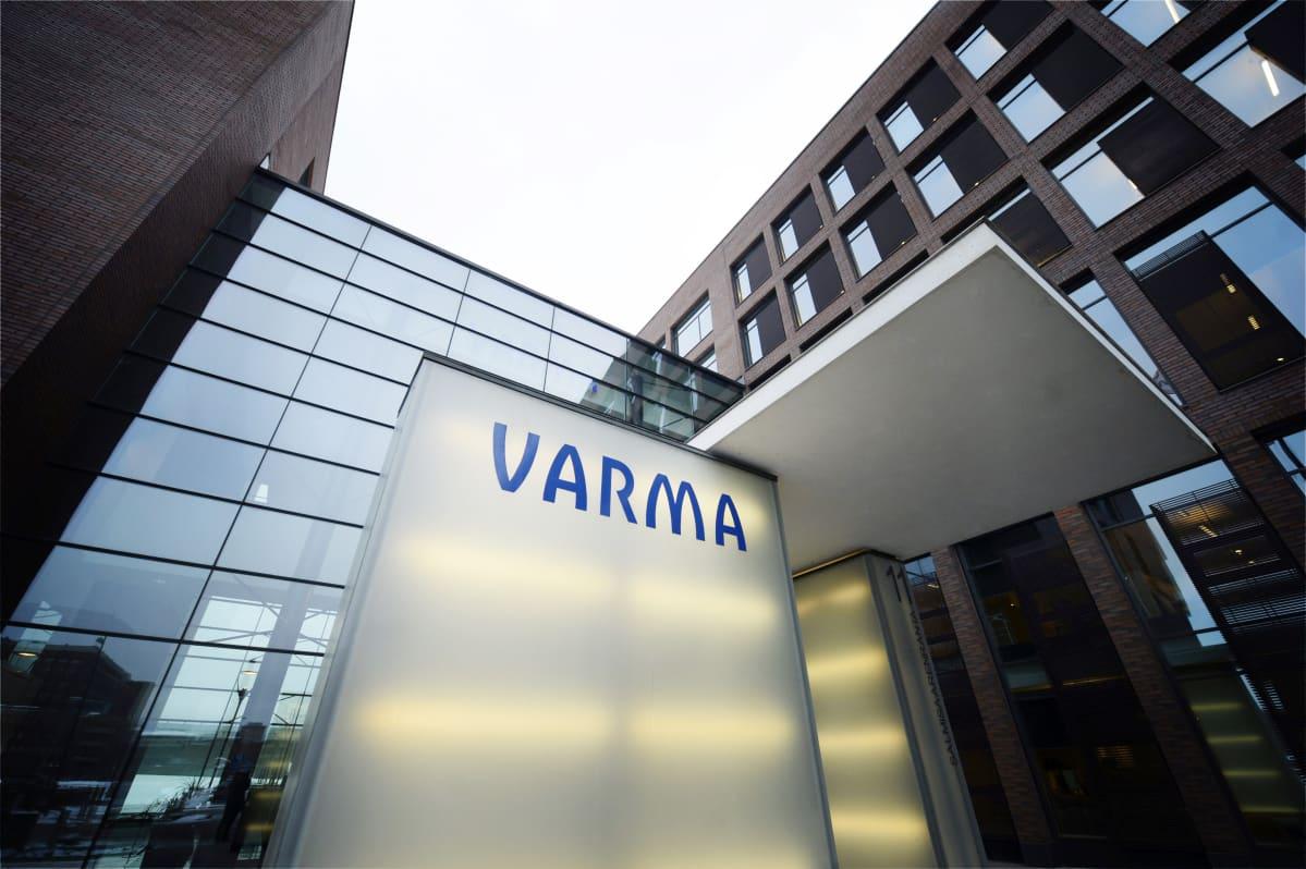 Keskinäisen työeläkevakuutusyhtiö Varman pääkonttori Helsingin Salmisaaressa.