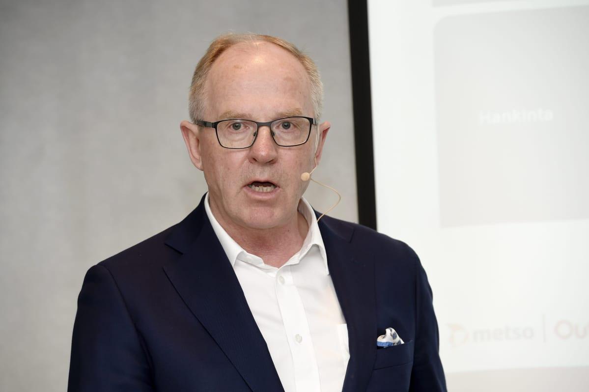 Metson toimitusjohtaja Pekka Vauramo