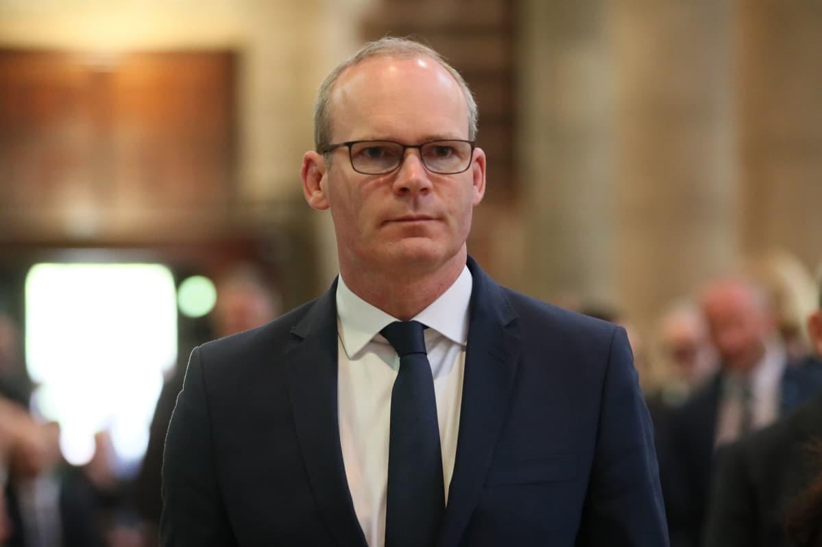 Irlannin varapääministeri ja ulkoministeri Simon Coveney.