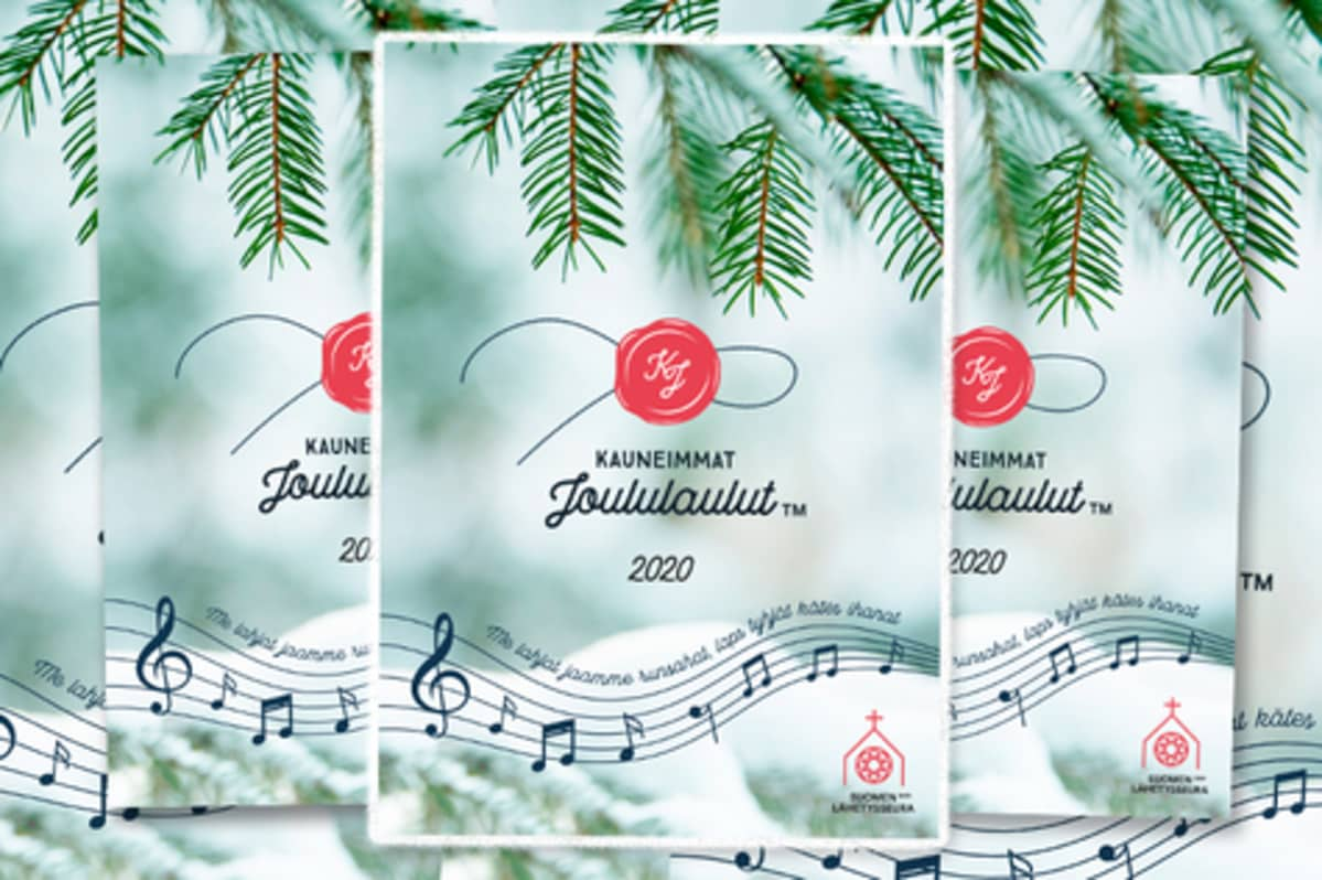 Kauneimmat joululaulut vihkoja
