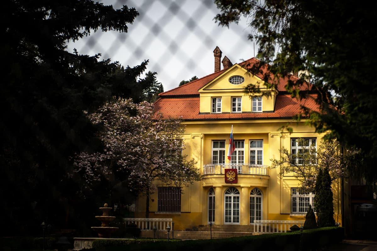 Venäjän suurlähetystö Slovakian Bratislavassa.