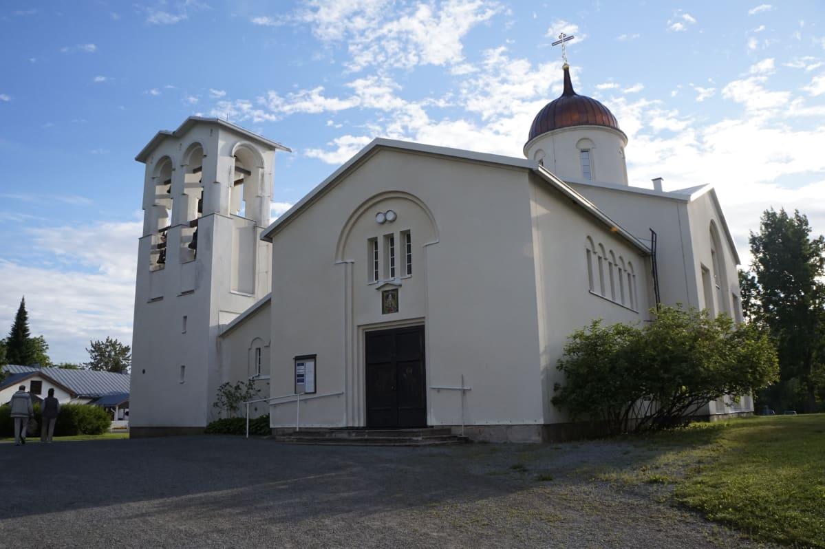 Valamon luostarin kirkkorakennus