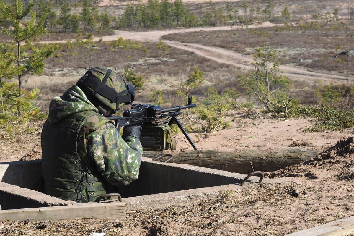 Vapaaehtoinen maanpuolustus