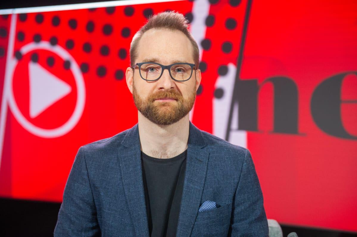 Viimeinen sana ohjelma, vieraana datajournalismin tuottaja Juho Salminen.14.5.2021.
