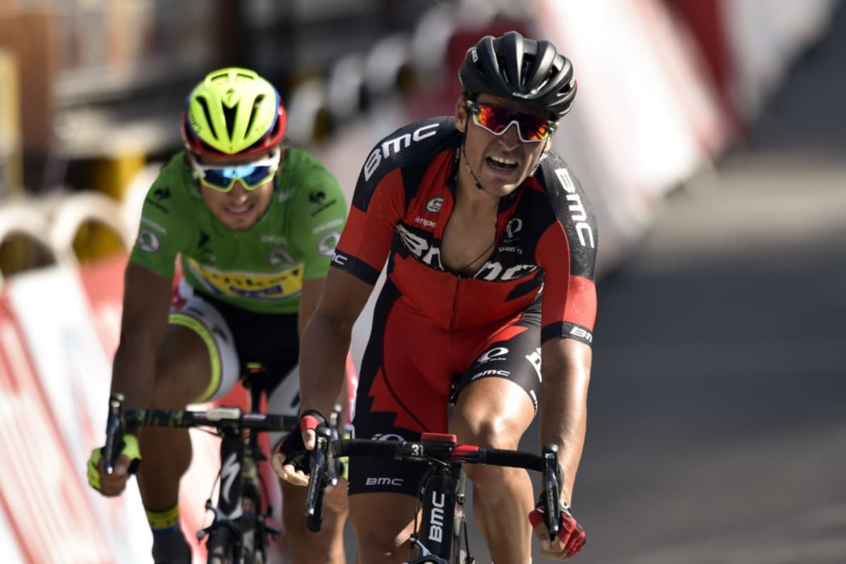 Greg Van Avermaet (edess) ja Peter Sagan