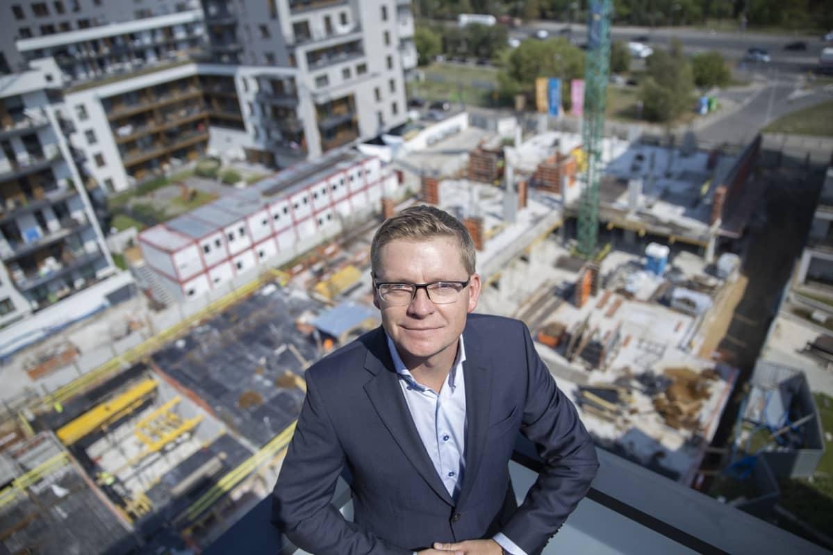YIT:n Puolan-johtaja Tomasz Konarski haluaa laajentaa yrityksen toimintaa myös Varsovan ulkopuolelle.
