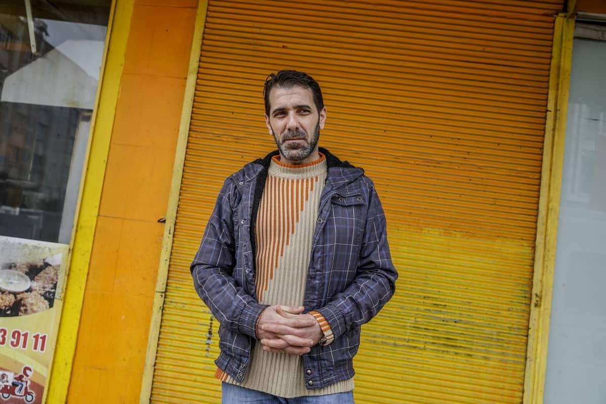 Ravintolakokki Mustafa Khaddor, 46, ei enää tunne itseään tervetulleeksi Turkissa.