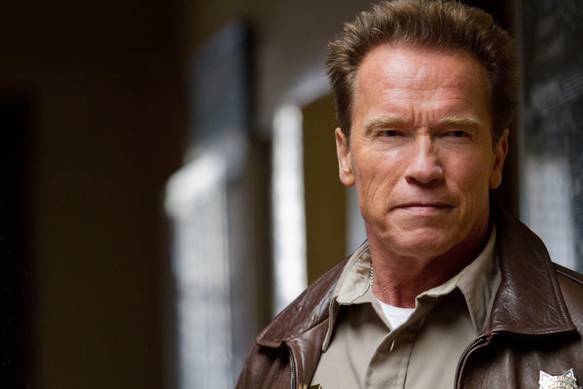 Arnold Schwartzenegger The Last Stand -elokuvassa.