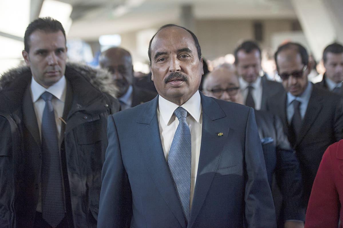 Mauritanian presidentti Ould Abdel Aziz